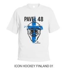001 Tričko ICON HOCKEY FINLAND 01