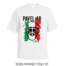 001 Tričko ICON HOCKEY ITALY 01