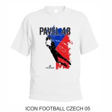 005 Tričko ICON FOOTBALL CZECH 05