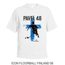 008 Tričko ICON FLOORBALL FINLAND 08