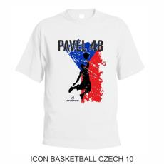 010 Tričko ICON BASKETBALL CZECH 10